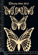 Monarch Butterflies DA0819 - Shop and Crop Scrapbooking