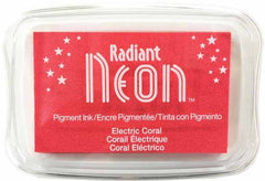 Radiant Neon-Electric Coral