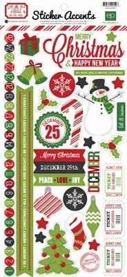 Jingle All The Way Sticker - Shop and Crop Scrapbooking