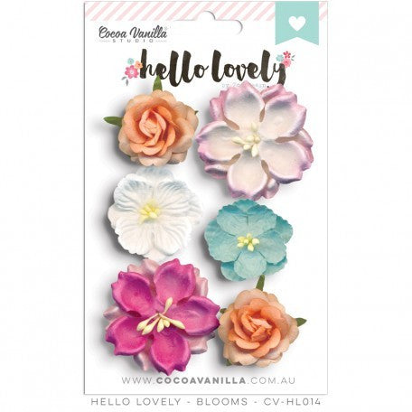 Hello Lovely Blooms - Shop and Crop Scrapbooking