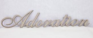 Adoration Chipboard Words - Shop and Crop Scrapbooking