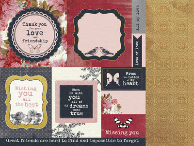 Ma Cherie - Fine - Shop and Crop Scrapbooking