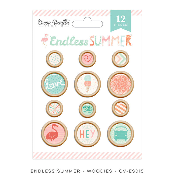 "Endless Summer ""Woodies"" - Shop and Crop Scrapbooking"
