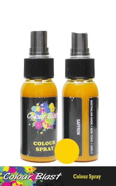 Colour Sprays - Saffron