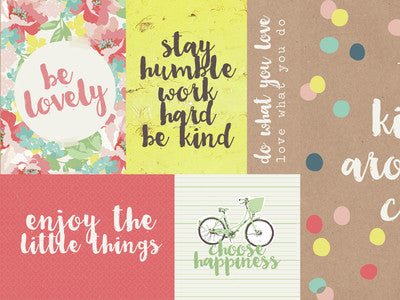Finders Keepers Collection 12x12 Medley Paper - Shop and Crop Scrapbooking