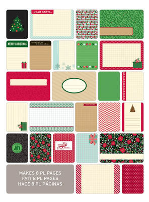 Themed Cards 40 Pk - Christmas - Shop and Crop Scrapbooking