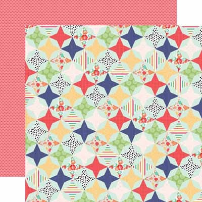 Handmade Quilt Paper - Shop and Crop Scrapbooking