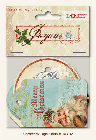 MME Joyous Decorative Tags - Shop and Crop Scrapbooking