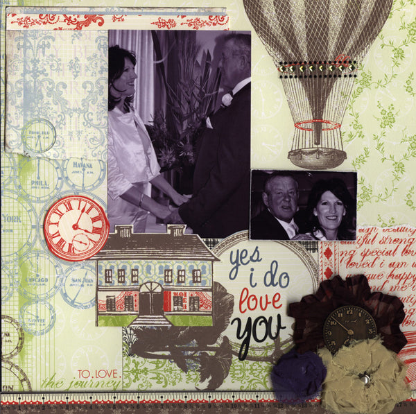 MARCH 2012 Cropaholic Kit - ONE OFF PURCHASE - Shop and Crop Scrapbooking  - 1
