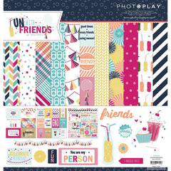 "Photo Play fun With Friends Collection Pack 12""X12"""