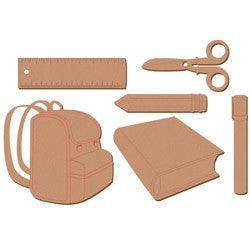 School Pack MDF023 - Shop and Crop Scrapbooking