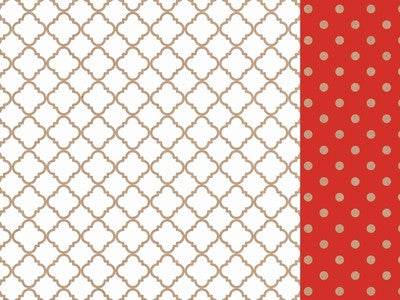 Mix & Match - 12x12 Scrapbook Paper Lattice - Shop and Crop Scrapbooking