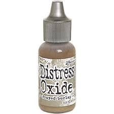 Tim Holtz Distress Oxide Reinker -  Frayed Burlap