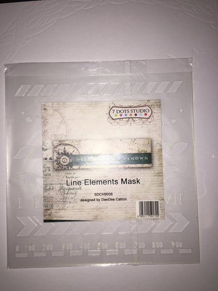 7 Dots Studio Line Elements Mask