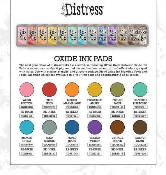 Preorder : Tim Holtz Distress Oxide Ink Pad Bundle 1