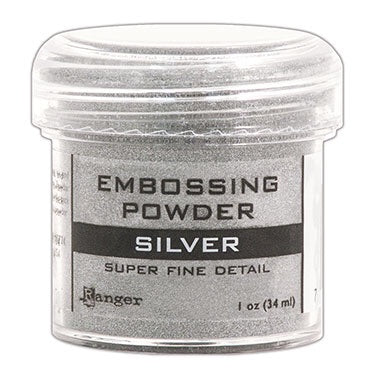 Ranger Embossing Powder - Super Fine Silver