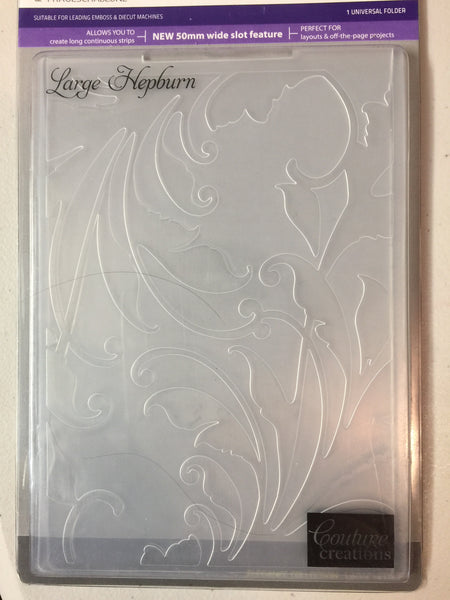 Embossing Folder - Large Hepburn