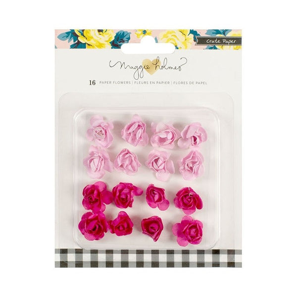 Maggie Holmes Bloom Paper Flowers 16pc