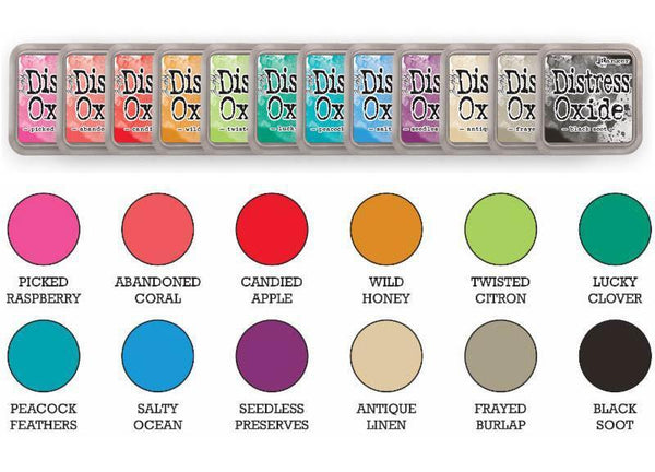 Preorder : Tim Holtz Distress Oxide Ink Pad Bundle 2