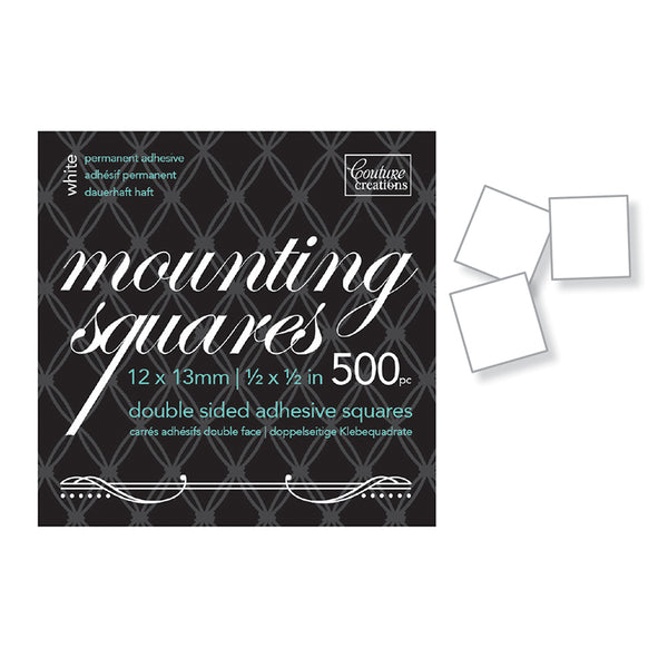 Couture Creations Mounting Squares 500
