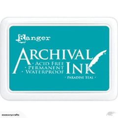 Archival Ink Pad - Paradise Teal