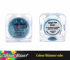 Colour Shimmer Cube - Watercolour - Singin The Blues