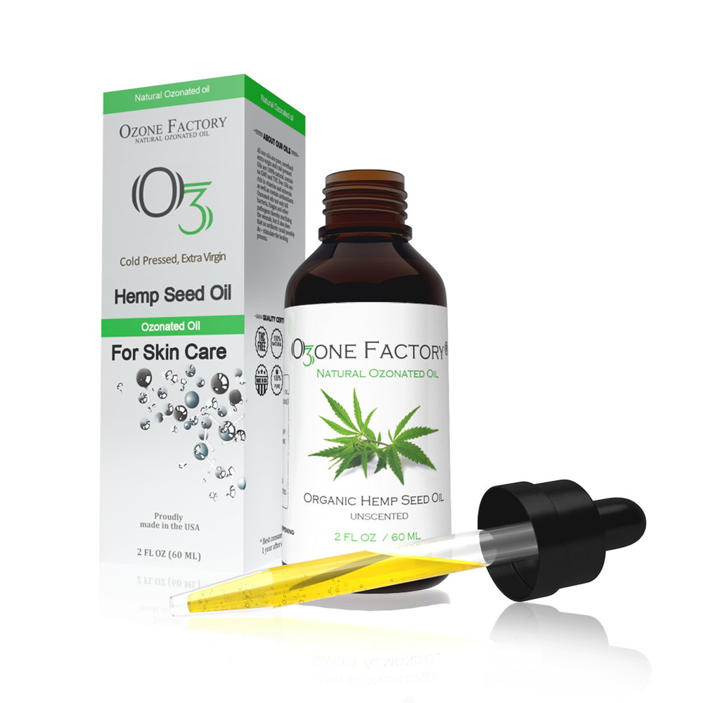 Ozonbated Hemp seed oil