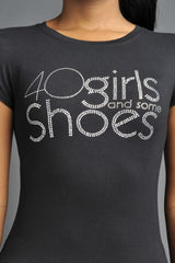 40 Girls And Some Shoes (Silver)
