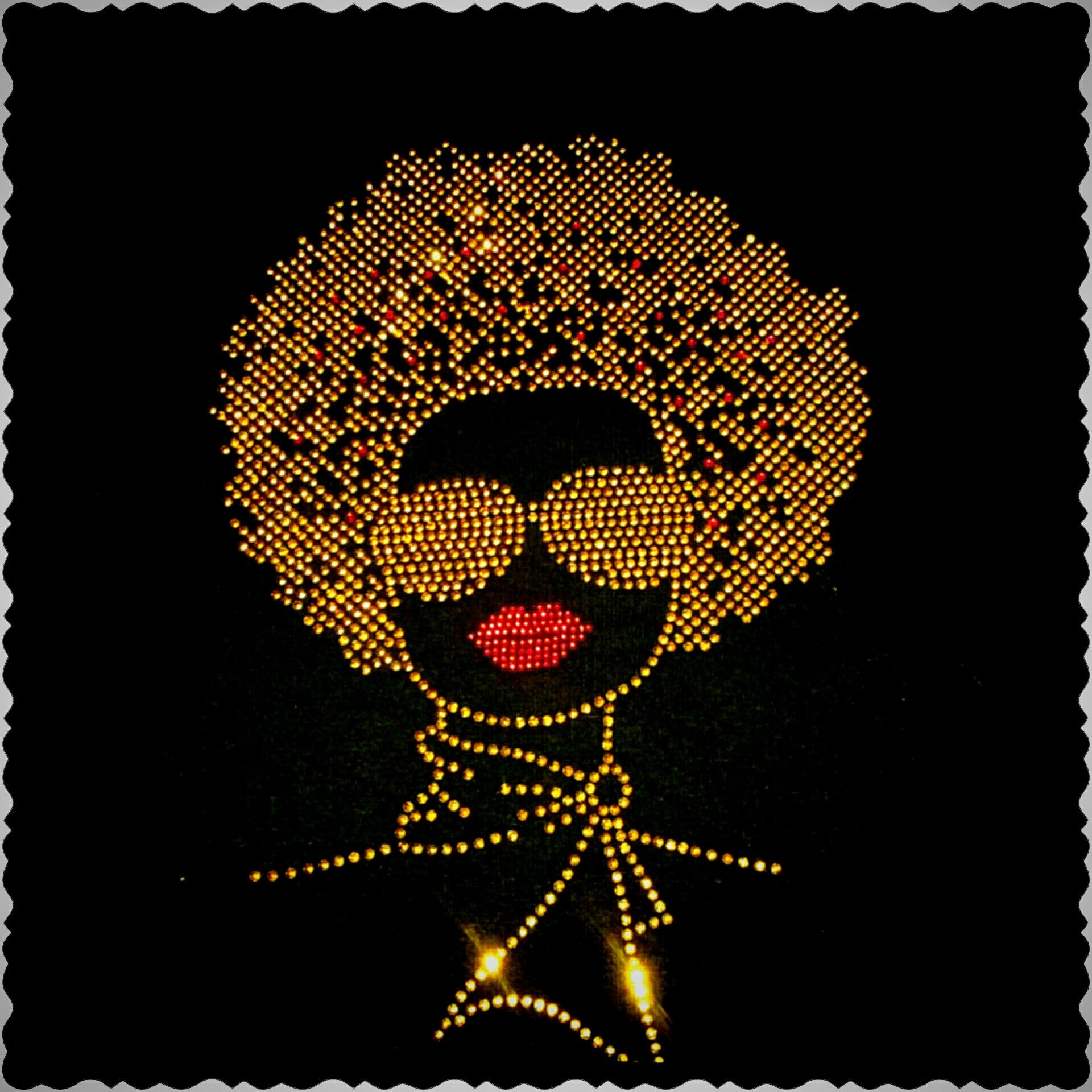 AFRO LADY GOLD