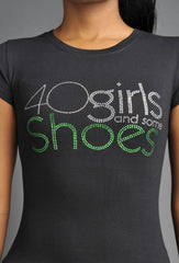 40 Girls And Some Shoes (Green)