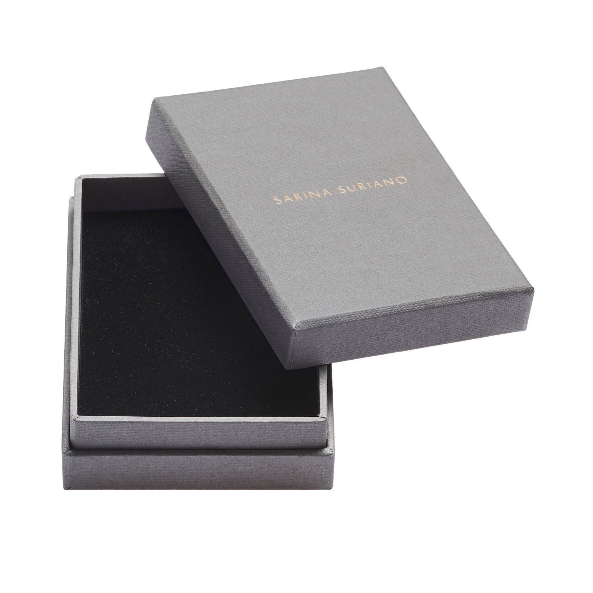 All jewellery comes beautifully packaged in a signature Sarina Suriano handmade jewellery box