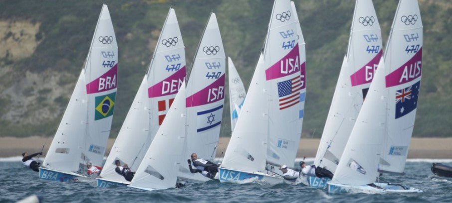 Sailing on the Olympic Games