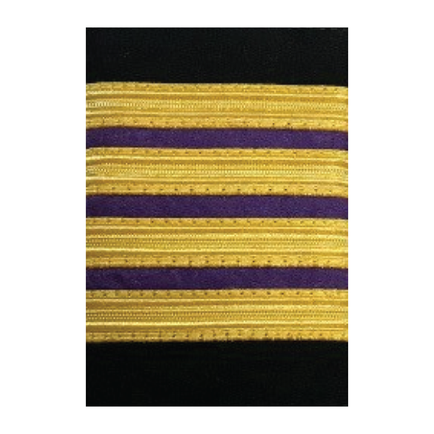 EPAULETTE - CHEIF ENGINEER FOUR BAR