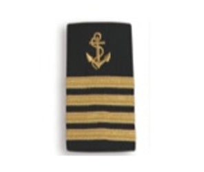 EPAULETTES GOLD ANCHOR - CAPTAIN