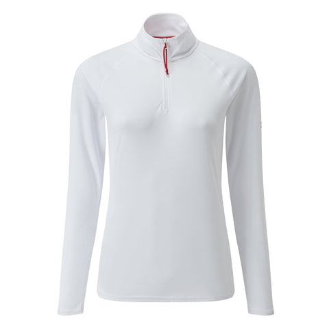 GILL WOMEN'S UV LONG SLEEVE ZIP TEE