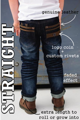 Brayden Straight Fit Boys Jeans