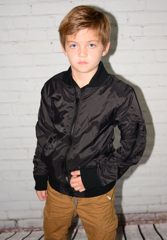 Wes & Willy Nylon Bomber Jacket
