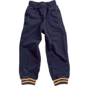 Wes & Willy Boys Cuffed Sweatpants, Varsity Stripe