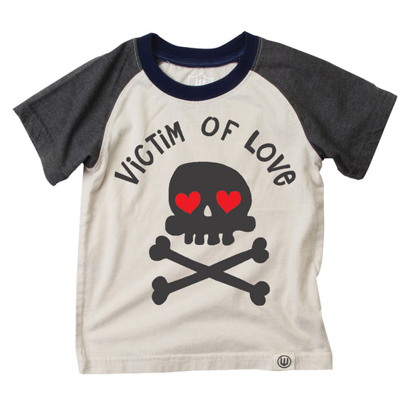 Boys T-shirt, Victim of Love, Skulls
