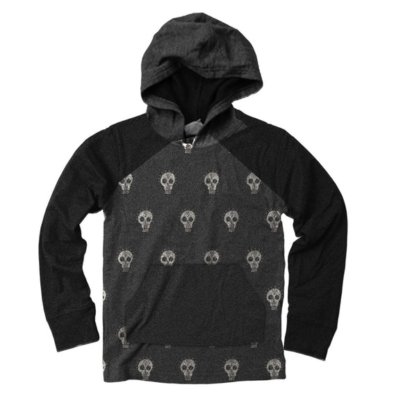 Wes & Willy Boys Hoodie, Skulls