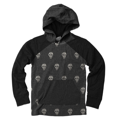 Skulls Hooded Tee - Clearance!