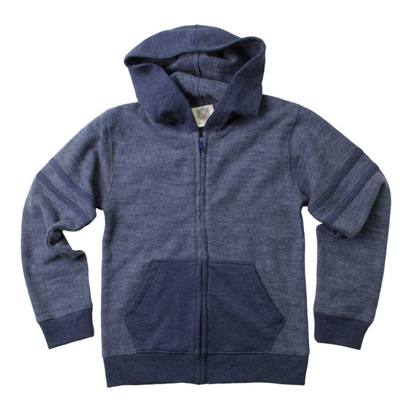 Reversed Fleece Zip Hoodie