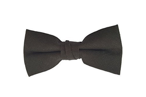 Boys Black Bow Tie, Adjustable