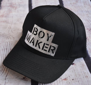 Boy Maker Trucker Hat - Black