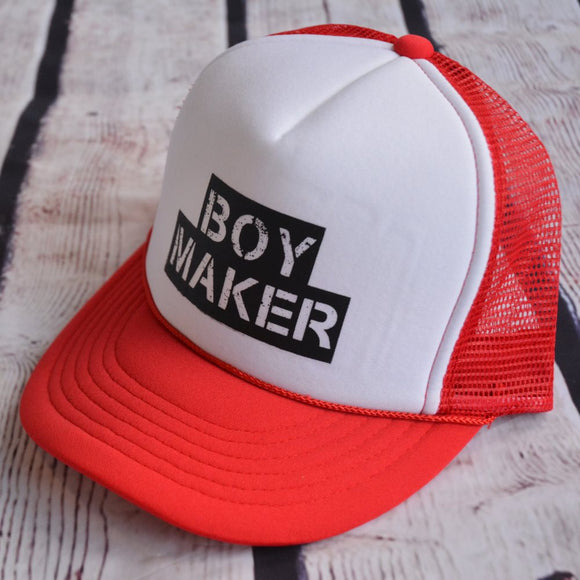 Boy Maker Trucker Hat