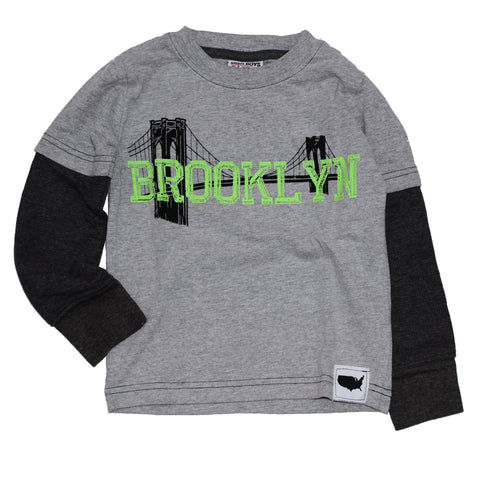 Brooklyn 2fer Layered Tee - Clearance!