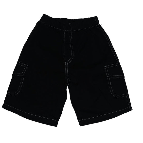 City Threads Boys Cargo Shorts, Navy