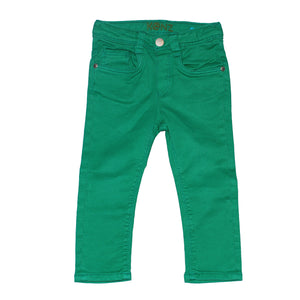 Baby Boys Skinny Jeans, Green