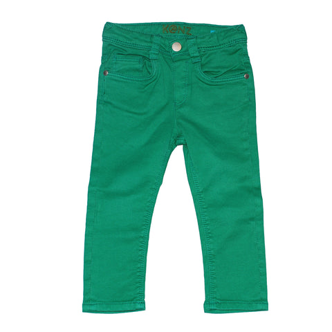 Green Skinny 5-Pocket Jeans - Size 6M - Clearance!