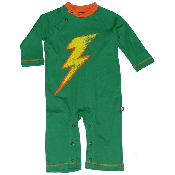 City Threads Infant Boys Romper, Lightning